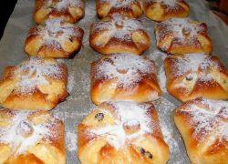 Węgierski sernik ciasto francuskie