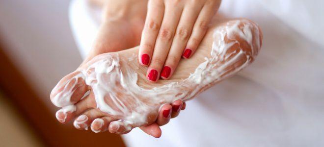 Крем от запаха и потливости ног