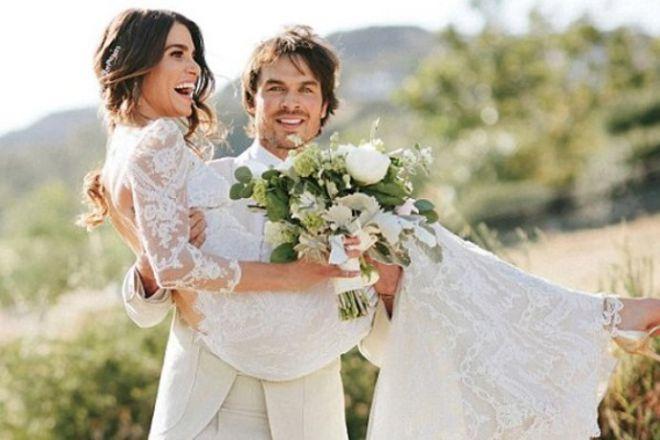 Никки и Йен поженились 2 года назад