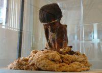 Мумия в региональном музее
