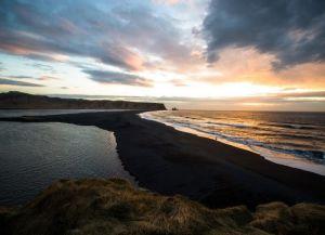 Черный пляж в Исландии