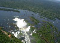 Национальный парк Игуасу с высоты птичьего полета