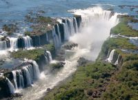 Красота водопадов Игуасу