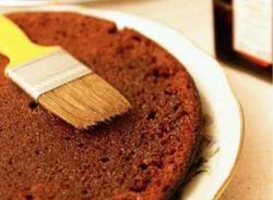 импрегнација за торте од чоколадног бисквита