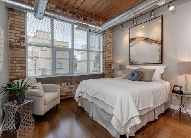 5_Спальня в индустриальном стиле_фото