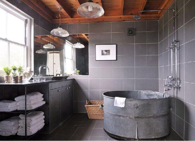 7_Ванная в индустриальном стиле_фото