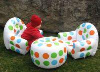 Nadmuchiwane meble dla dzieci 3