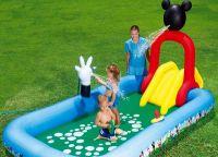 nadmuchiwany basen ze zjeżdżalnią 8
