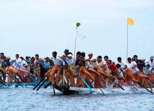 Фестиваль на озере Инле