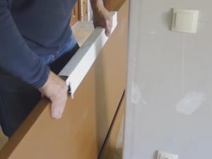 Instalace interiérových dveří do interiéru6