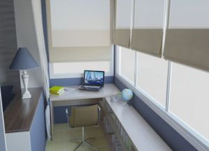Balkon za uređenje interijera -1