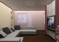 Wnętrze salonu w Chruszczow1