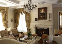 Wnętrze salonu w house17