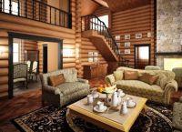Wnętrze salonu w domu1