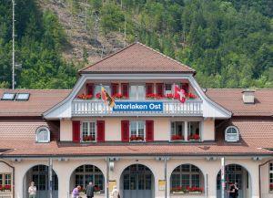 Станция Interlaken Ost