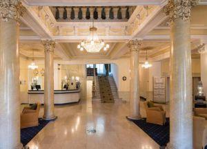 Холл Lindner Grand Hotel Beau Rivage