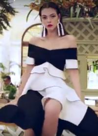 Красивые модели в клипе для журнала Vogue