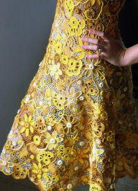 irské krajkové šaty 5