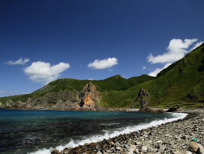 Пейзажи острова Хоккайдо