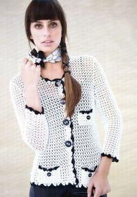 плетена јакна 1