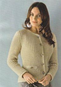 плетена јакна 2