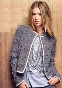 плетена јакна 3