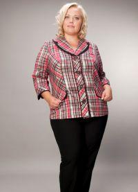 kurtki dla otyłych kobiet 1