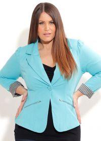 јакне за гојазне жене 8