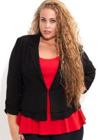 kurtki dla otyłych kobiet 9