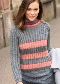 żakardowy sweter 2