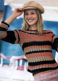 żakardowy sweter 3