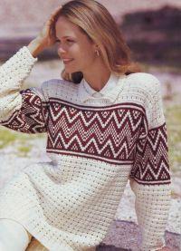żakardowy sweter 4