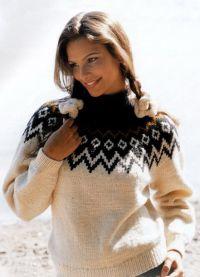 żakardowy sweter 5