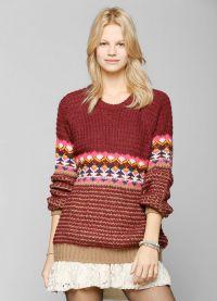 żakardowy sweter 6