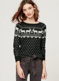 żakardowy sweter 7