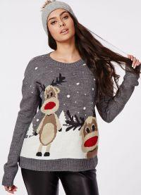 żakardowy sweter 8