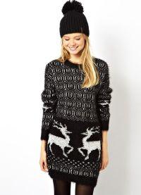 żakardowy sweter 9