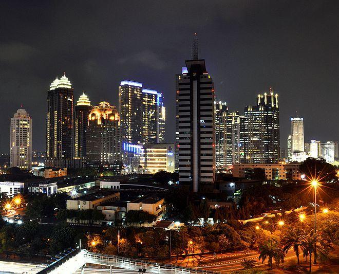 Ночная Джакарта