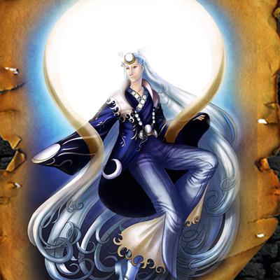 Японски бог на луната