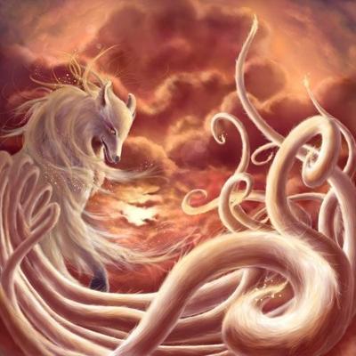 демони лисици в японската митология