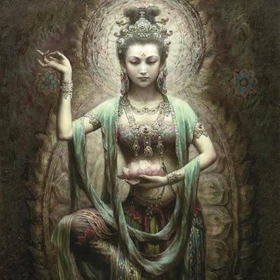 японска богиня на милостта