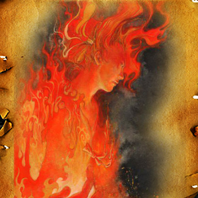 японски бог на огъня