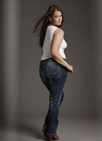 Dżinsy dla otyłych kobiet 5