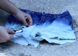 разбацане фармерке с властитим рукама 6