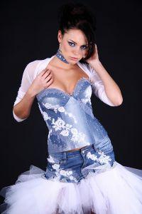 obleke iz denim 1