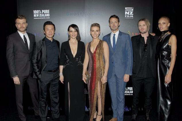 В Нью-Йорке состоялась премьера нового блокбастера  «Призрак в доспехах»