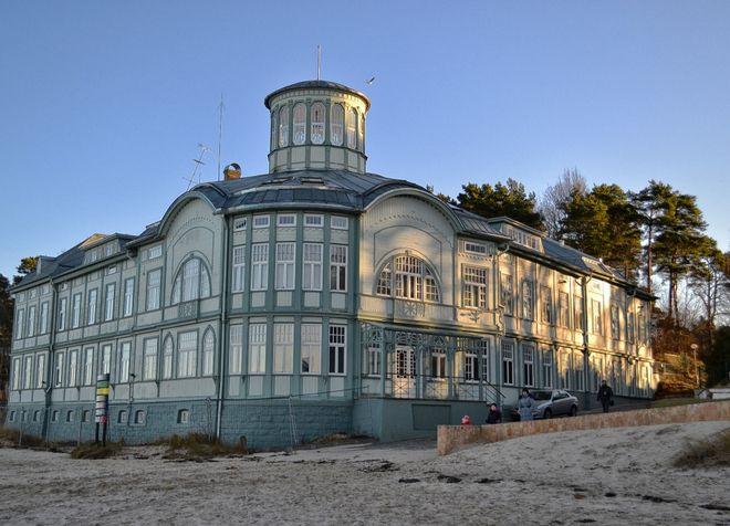 Бывшая купальня Э. Рацене