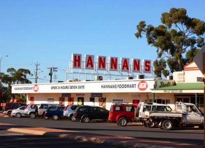 Hannans IGA супермаркет