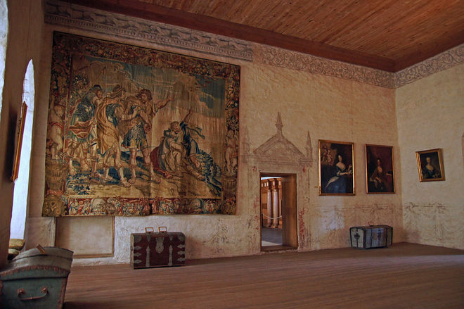 Интерьер замка Кальмар