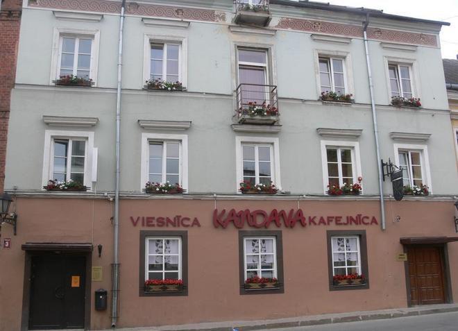 Отель Kandava